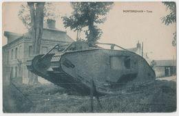 CPA Militaria - Montbrehain - TANK - War 1914-18