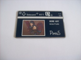 CARTES PRIVEES - N° 237 -   5 U   -  PINTUS  ( Serie Art Sculpture )   - Voir Photo ( 9 ) - Belgium