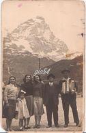 Aosta Valtournenche Cervino Fotografica Animata Bordi Piegati Giugno 1950 - Italy