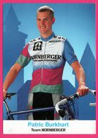 Cycliste - Cyclisme - PATRIC BURKHART - Team Nurnberger - Sponsors - Pub - Cycling