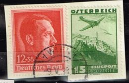 DR 1938, Michel# 664 O Gemeinsam Mit österr. Briefmarke Verwendet - Allemagne