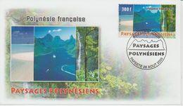 Polynésie Française 2005 Paysages 754 - FDC