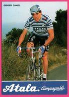 Cycliste - Cyclisme - DANIEL GISIGER - Atala Campagnolo - Sponsors - Pub - Ciclismo