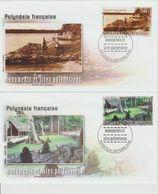 Polynésie Française 2005 Monuments Et Sites 757-758 - FDC