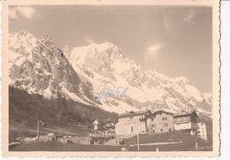 Aosta Courmayeur Monte Bianco Entreves Maggio 1956 Fotografica 8,5x12 - Italy