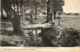 CPA - AULNAY-sous-BOIS (93) - Aspect Du Petit Pont Sur La Morée En 1920 - Aulnay Sous Bois
