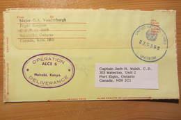 Canadian UN Contingent In Somalia - ONUSOM / UNOSOM - CFPO 5005 - Postal History