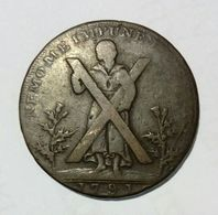 SCOTLAND - EDINBURGH - Half Penny Token (1791) - Monetary/Of Necessity