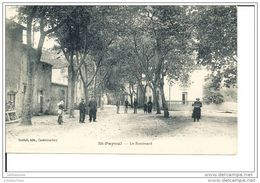SAINT PAPOUL LE BOULEVARD CPA TRE ANIMEE - France