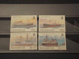 MONTSERRAT - 1984 NAVI 4 VALORI -  NUOVI(++) - Montserrat