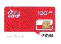 "GSM  TURKEY  ""AVEA 128KB"" - TOP AS ON PHOTO - Turkey"