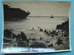 """44 - Saint Nazaire - Photo Souple 11cm X 15cm - Lancement Du Paquebot """"Normandie"""" - 1932 - Saint Nazaire"""