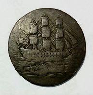 GREAT BRITAIN - Portsea Salmons Curtney & Frost - Half Penny Token ( 1796 ) - Monetari/ Di Necessità