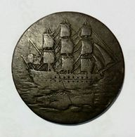 GREAT BRITAIN - Portsea Salmons Curtney & Frost - Half Penny Token ( 1796 ) - Monetary/Of Necessity
