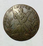 SCOTLAND - EDINBURGH - Half Penny Token (1791) - Monetari/ Di Necessità