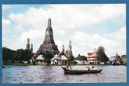 THAILAND SIAM TEMPLE OF DAWN IN BANGKOK - PAN AMERICAN WORLD AIRWAYS - Tailandia