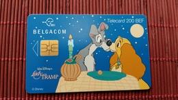 Phonecard Disney Lady & Thramp - Disney