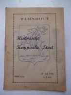 Boekje Historische  Kempische  Stoet  1946 TURNHOUT - Programs