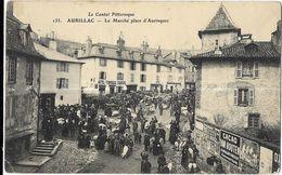 Aurillac - Le Marché Place D'Aurinques - Aurillac