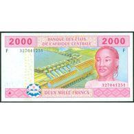 TWN - EQUATORIAL GUINEA (C.A.S.) 508F - 2000 2.000 Francs 2002 XF+ - Guinea Ecuatorial