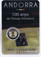 """Andorra - 2 Euro Commemorativo 2017 """" Inno """" - Andorra"""