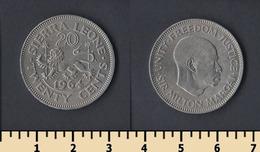 Sierra Leone 20 Cents 1964 - Sierra Leone