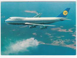 Lufthansa Postcard 1970? Erstflug, Inauguration Flight New York To Frankfut B 747 / LH 404 B180210 - Airmen, Fliers