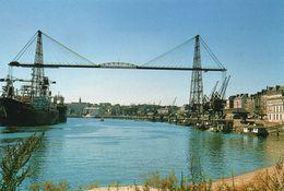 Ponts Ouvrages D'Art Le Pont Transbordeur Nantes Pont Viaduc Le Port - Bridges
