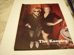 PUBLICITE AFFICHE VETEMENT THE KOOPLES - Vintage Clothes & Linen