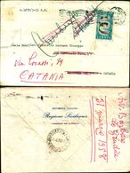 8360a)busta   Europa - 2ª Emissione Da 25lire 2-4-58 - 6. 1946-.. Repubblica