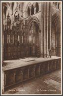 St Cuthbert's Shrine, Durham Cathedral, C.1930 - RP Postcard - Durham