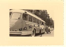 AUTOCAR CAR ANDRIEU A BILBAO ESPAGNE  - 2 PHOTOS DIM 10,5x8 Cms Et 9x6,5 Cms - Cars