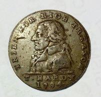 MIDDLESEX - T. HARDY - HALF Penny Token ( 1794 ) Erskine & Gibbs / Copper - Monetary/Of Necessity