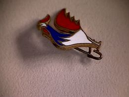 Epinglette Coq Bleu, Blanc, Rouge - Other Collections