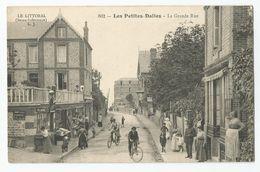 76 - Les Petites Dalles La Grande Rue Animée - France