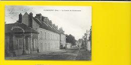 CLERMONT La Caserne De Gendarmerie (Vandenhove) Oise (60) - Clermont