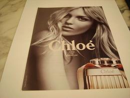 PUBLICITE AFFICHE PARFUM CHLOE - Fragrances