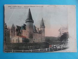 33 : LUDON-MEDOC : CHATEAU D'AGASSAC , C.P.A. , Carte En Bon état, - Castles