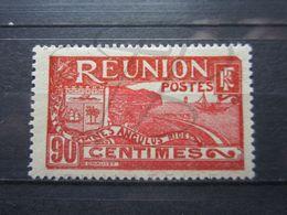 VEND BEAU TIMBRE DE LA REUNION N° 114 , X !!! (a) - Réunion (1852-1975)