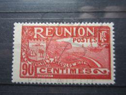 VEND BEAU TIMBRE DE LA REUNION N° 114 , X !!! (b) - Réunion (1852-1975)