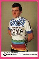 Cycliste - Cyclisme - EDDY VANHAERENS - Sigma - Cicli Diamant - Sponsors - Pub - Ciclismo