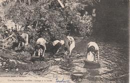 TAMATAVE    Madagascar -   Une Exploitation Aurifére-Lavage à La Battée-   TB PLAN  1927 RARE  Extraction OR - Madagascar