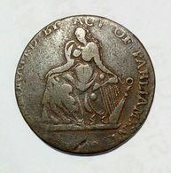 IRELAND - DUBLIN Camac Kyan And Camac. - Half Penny Token / Copper - Monetari/ Di Necessità