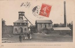 23 LAVAVEIX-LES-MINES     Mines-  Puits Central   Côté Ouest   TB PLAN  1908  RARE - Autres Communes