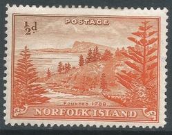 Norfolk Island. 1947-59 Bell Bay. ½d MH. SG 1 - Norfolk Island