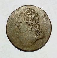 MIDDLESEX - DUKE Of YORK - Half Penny Token / Copper - Monetari/ Di Necessità