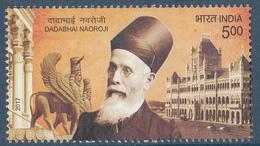 INDIA 2017   Dadabhai Naoroji, , Celebrity, Parliamentarian, Educationist,  Politician, Socialist, MNH(**) - Inde
