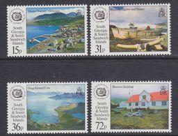 South Georgia 1993 Whaling Museum 4v ** Mnh (37702) - Zuid-Georgia