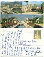 """Venezuela 1962 Postcard Caracas - """"El Pulpo"""", To Villas New Jersey, Scott C725 - Venezuela"""