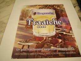 PUBLICITE AFFICHE BIERE HAEGAARDEN - Alcohols